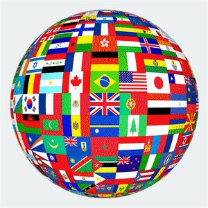 Ball of flags